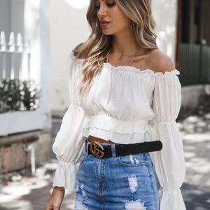 Crop Top Style Blouse